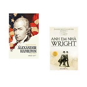 Combo 2 cuốn sách: Alexander Hamilton  + Anh Em Nhà Wright