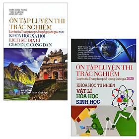 Combo Ôn Tập Luyện Thi Trắc Nghiệm Luyện Thi THPT Quốc Gia 2020 - Khoa Học Tự Nhiên (Vật Lí - Hóa Học - Sinh Học) Và Khoa Học Xã Hội (Khoa Học Xã Hội - Lịch Sử - Địa Lí - Giáo Dục Công Dân) (Bộ 2 Cuốn)