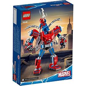 Bộ lắp ráp Chiến Giáp Người Nhện - LEGO Marvel 76146 (152 Chi Tiết)
