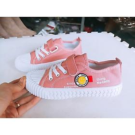 giày thể thao trẻ em nam nữ mặt cười