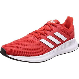 adidas Men Shoes Running Runfalcon Work Out Gym Sports Training Red F36202