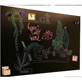 Decal Dán Tường Bảng Viết Màu Đen EB79 (45 x 200 cm)