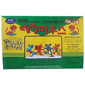 Combo 10 miếng Keo dán bẫy chuột, gián, thằn lằn, côn trùng Korea Catch Mouse