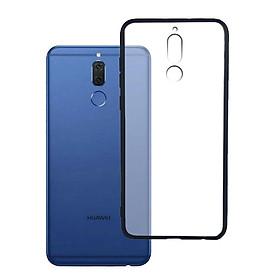 Ốp lưng Huawei Nova 2i - Bề mặt nhám chống vân tay, lưng cứng, viền TPU dẻo - 02089 - Hàng Chính Hãng