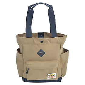 Túi Đeo Vai Tote Bags - Khaki Stronger Bags S21_3 (37 x 35 cm) - Nâu