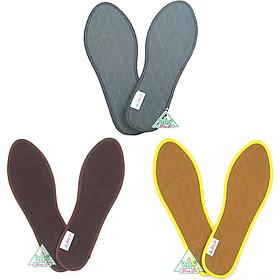 Combo 3 đôi lót giày hương quế khử hôi chân, phòng cảm cúm (CI-01, CI-03, CI-04) - Tốt cho sức khỏe
