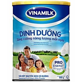 Sữa Bột Nguyên Kem Có Đường Vinamilk Dinh Dưỡng (900g)