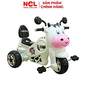 Xe 3 bánh Nhựa Chợ Lớn hình Bò Con - Chú Chó - Vespa Bò Con - Super Harley (Không nhạc)