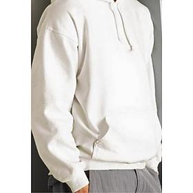 Áo Hoodie Nam Nữ| Nỉ Cotton Trắng Trơn Dáng Xuông  | Đủ Size S M L XL Cao Cấp