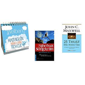 Combo 3 cuốn sách:  Khơi Nguồn Năng Lượng Tích Cực + Nghệ Thuật Sống Tự Tin + 25 Thuật đắc nhân tâm