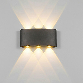 Đèn LED Gắn Tường Siêu Chắc Bằng Nhôm (IP65)