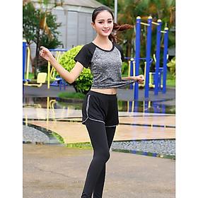 Bộ đồ thể thao, bộ đồ tập Gym, Yoga, Aerobic - KIP37