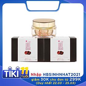 Bộ 2 Kem xóa mờ nám và dưỡng trắng da White Shinno Nhật Bản - Hộp 20gr