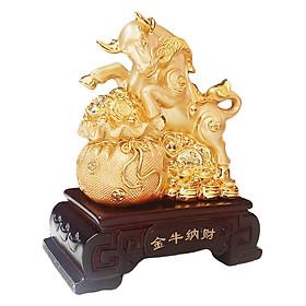 Tượng Chú Trâu Vàng Kim Tiền