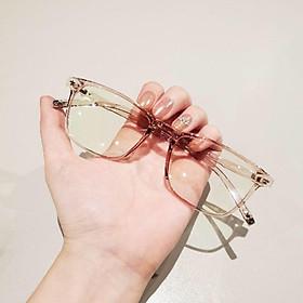 Gọng kính cận vuông 213, nhựa dẻo cho cả nam và nữ - Tiệm kính Candy