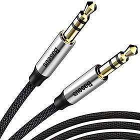 Dây cáp âm thanh AUX Audio 3.5mm Baseus M30 100cm - hàng chính hãng