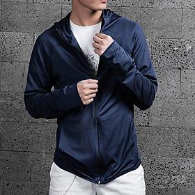 Áo chống nắng nam Kojiba vải thun cotton ACP, áo khoác chống nắng ôm dáng vải kim cương co giãn nhẹ