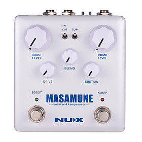 Phơ Cục Compressor True Bypass Cho Đàn Guitar NUX MASAMUNE