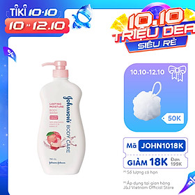 Sữa Tắm Dưỡng Ẩm Johnson's Dành Cho Người Lớn (750ml) - 9556006061541