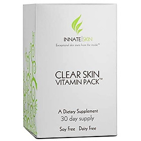 Clear Skin Vitamin Pack Acne Supplement - 30 Day Supply of Acne Supplement