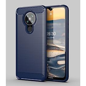 Ốp lưng chống sốc Vân Sợi Carbon cho Nokia 5.3