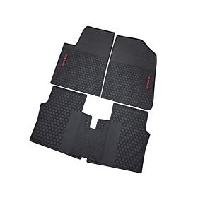 Thảm sàn, lót sàn cao su 3D không mùi Cao cấp dành cho xe Kia Soluto