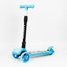 Xe trượt  Scooter Centosy MHBC 017C hàng chính hãng cao cấp màu Xanh cho bé trai có thể gập gọn tiện lợi khi đi du lịch