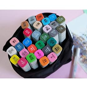 Bút vẽ Marker Touchliit 7 bộ 30 màu kèm túi vải