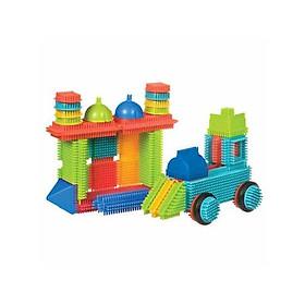 Bộ đồ chơi xếp hình lông mao BB dòng Battat B.Toys (56 miếng)