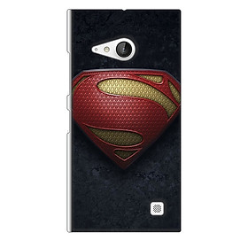 Ốp lưng nhựa cứng nhám dành cho Nokia Lumia 730 in hình Siêu nhan