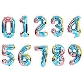 Wedding Marriage Decoration Balloons 32 Inch Large Digital Balloons Decoration