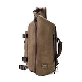 Túi đeo chéo bằng da thời trang nam Dide