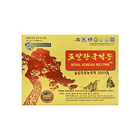 COMBO TInh dầu thông đỏ Royal Korean Red Pine 120 viên TẶNG 01 hộp 30 gói Hồng sâm baby cho trẻ 6-13 tuổi Daedong Korea Ginseng