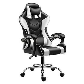 Ghế gaming  cao cấp dành cho game thủ BG model mới E02-S WHITE (hàng nhập khẩu)