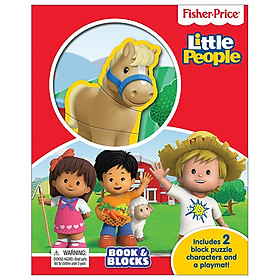 Fisher Price Little People Book & Blocks