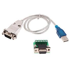 Cáp Chuyển đổi Nối Tiếp USB Sang RS485 RS422 Cho Win 10 8 7 XP OS 0,5m