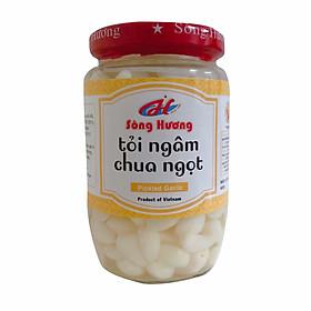 Tỏi Ngâm Chua Ngọt Sông Hương Foods Hũ 370g