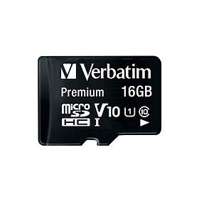 Thẻ nhớ Verbatim Micro SDHC 16GB Class 10 - Hàng chính hãng