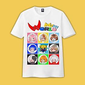 Áo thun Hero Team Mini World Avatar mẫu mới cực đẹp, có size bé cho trẻ em cho bé trai và bé gái / áo thun Mini World Toàn Thành Viên Hero Team Unisex Nam Nữ, áo phông thiết kế cổ tròn basic cộc tay thoáng mát