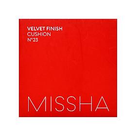 Phấn Nước Mỏng Mịn, Che Phủ Tốt, Lâu Trôi Missha Velvet Finish Cushion SPF50+ PA+++