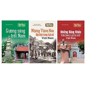 Combo Tủ sách Kể chuyện lịch sử - Danh nhân Việt Nam (Bộ 3 cuốn)