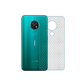 Miếng Dán Vân Carbon Chống Trầy Cho Điện Thoại Nokia 7.2