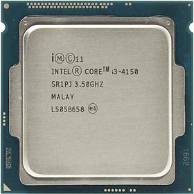Bộ vi xử lý CPU INTEL Core I3 4150 3.5GHZ - TRAY- Hàng chính hãng - THÍCH HỢP MAINBOARD H81 B85