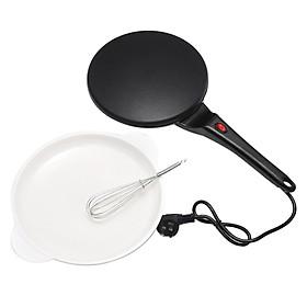 Máy Làm Bánh Kếp (Pancake) Không Dính Bằng Điện - Đen
