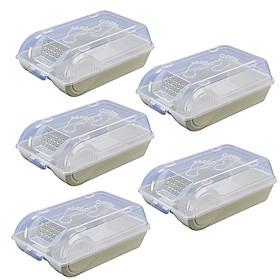 Bộ 5 hộp đựng giày dép thông minh, tiện lợi GS0023