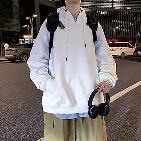 Áo nỉ Hoodie trơn đủ màu (unisex nam nữ đều mặc được)