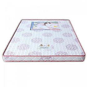 Nệm Cao Su Khoa Học Ro-Yal Vivian (1.4 x 2.0 m) - Nền Trắng Hoa Văn Màu Sắc Ngẫu Nhiên