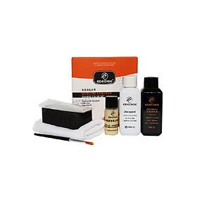 Bộ sản phẩm combo Sơn chuyên dụng cho da- đổi màu - sửa chữa vết bong tróc- làm mới đồ da