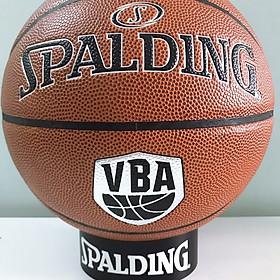 Bóng rổ Spalding VBA New 76-501 Indoor/ Outdoor Size 7- Tặng kim bơm bóng và túi lưới đựng bóng