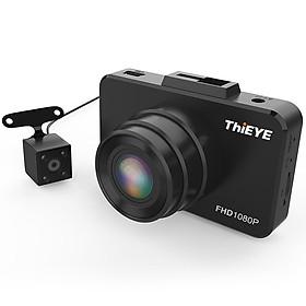 Camera hành trình xe hơi/ô tô ThiEYE Dual Lens Dash Cam Safeel 3R – Hàng chính hãng